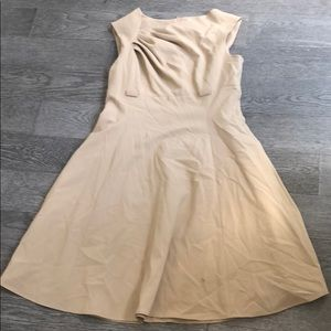 Calvin Klein Khaki Sleeveless Dress Size 14
